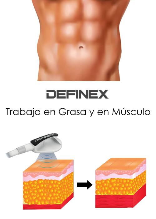 Definex - Trabaja en Grasa y en Músculo
